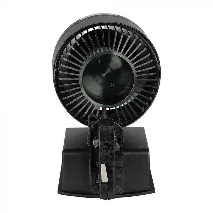 33W LED COB CRI>95 Track Light Black Body 5000K
