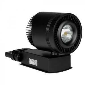 45W Led COB Track Light Cri>95 Black Body