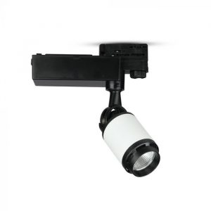 10W LED Track Light Black&White Body