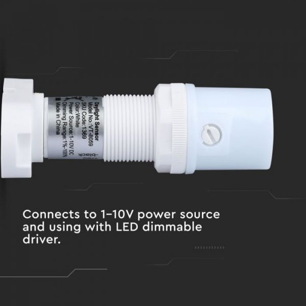 Daylight Sensor 0-10V White 360 degree