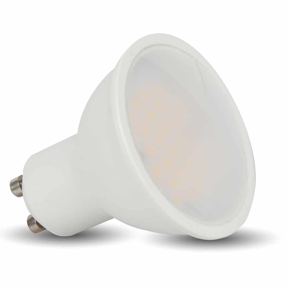 LED Spotlight 3W GU10 White Plastic 3000K 110 degree