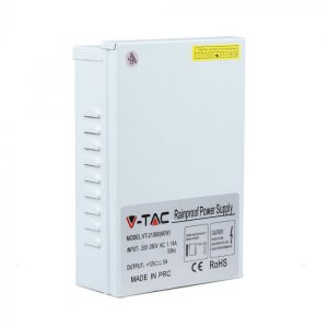 60W LED Rainproof Power Supply - 12V - 5A - IP45 Metal