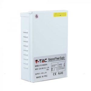 60W LED Metal Power Supply Rainproof 12V 5A IP45