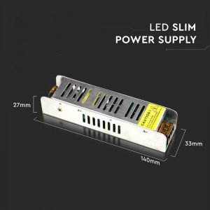 25W LED Slim Power Supply -12V - 2.1A Metal