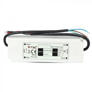 60W LED Waterproof Power Supply 2 Years Warranty - 12V - 5A - IP67 Plastic