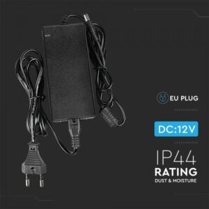 LED Power Supply  - 60W 12V 5A Plastic - EU Plug