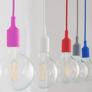 Silicone Pendant E27 Holder