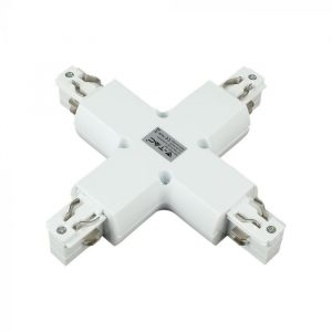 4X Track Connector - Black/ White