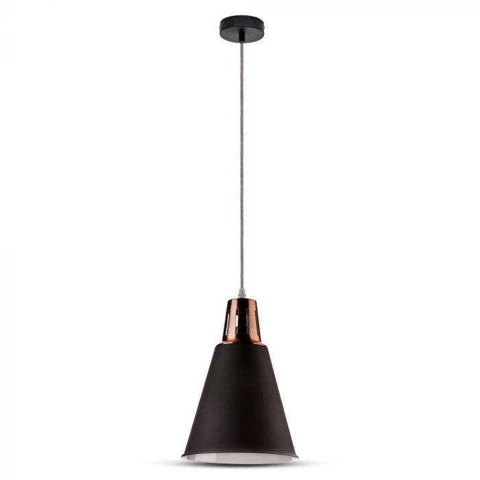 Pendant Light Red Copper & Sand Black/White/Grey Canopy D=220 E27