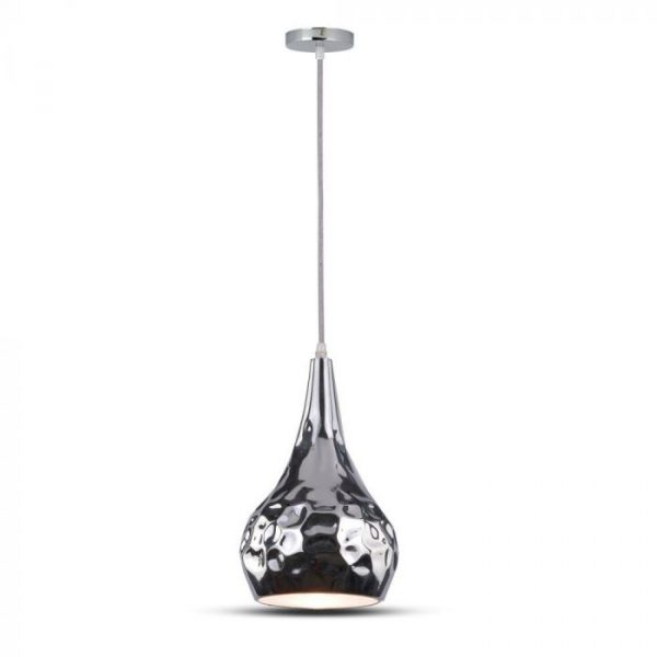 PENDANT LIGHT HOLDER-CHROME