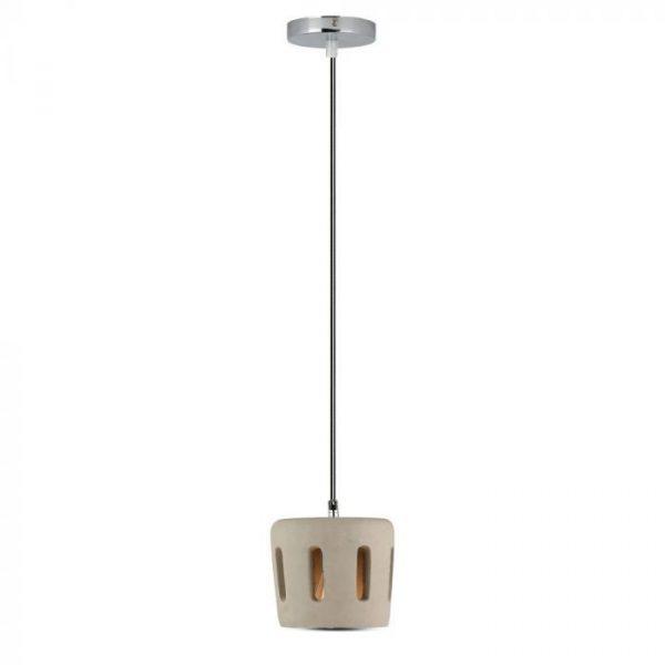 CONCRETE+LAMPSHADE PENDANT LIGHT