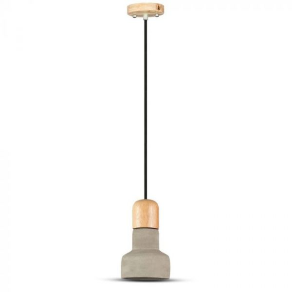 CONCRETE+ACRYLIC PENDANT LIGHT