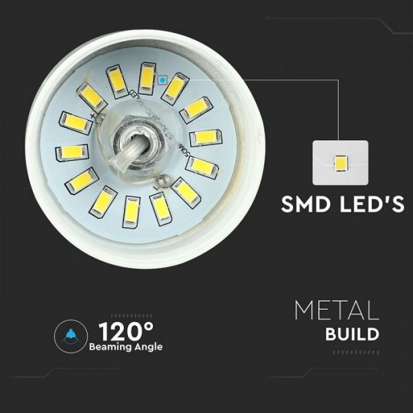 7W Led Pendant - Gold Lamp Shade D=250*190mm
