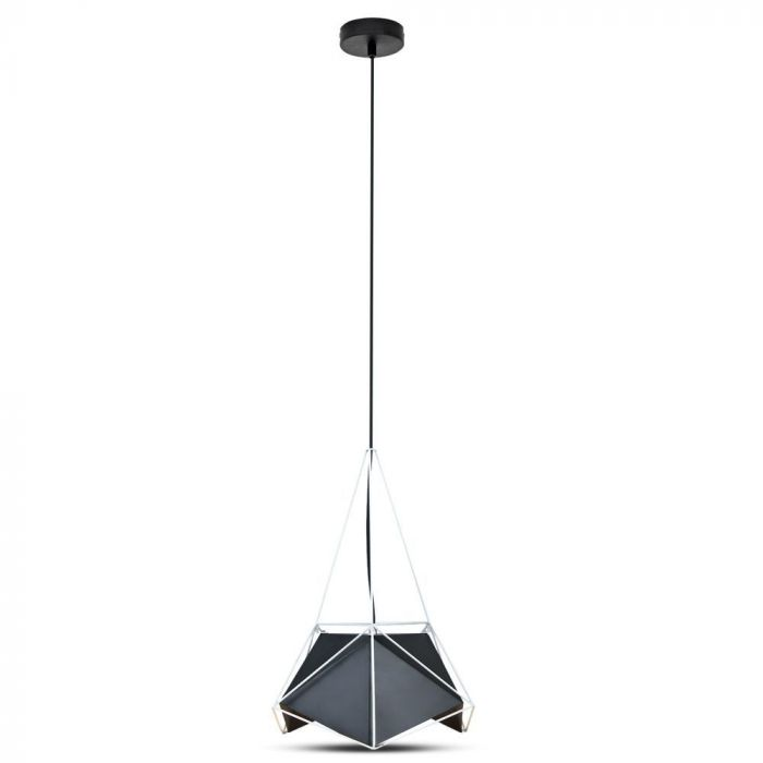 Pendant Light Basics Net Prism Lampshade 400*540mm Black