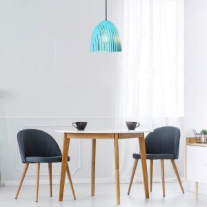 Pendant Light Cone Prism Blue D=250*270mm