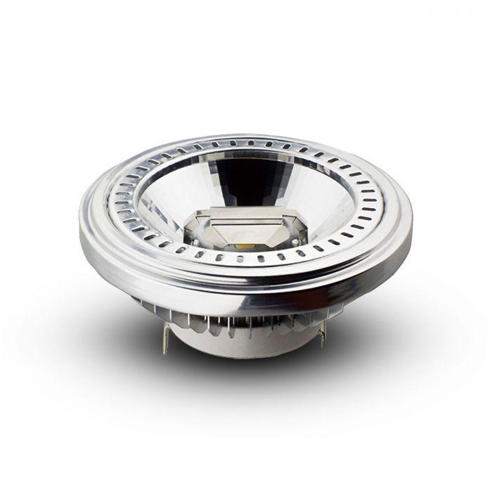 15W AR111 PAR Bulb Recessed 40 degree Beam G53 12V