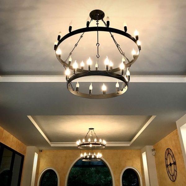 LED Bulb 4W Candle Flame E14 Warm White