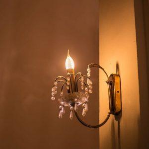 LED Bulb 4W Candle Flame - E14 Clear Glass with Twist 2700K (warm white)