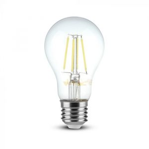 8W LED Bulb A67 - E27 Clear Glass