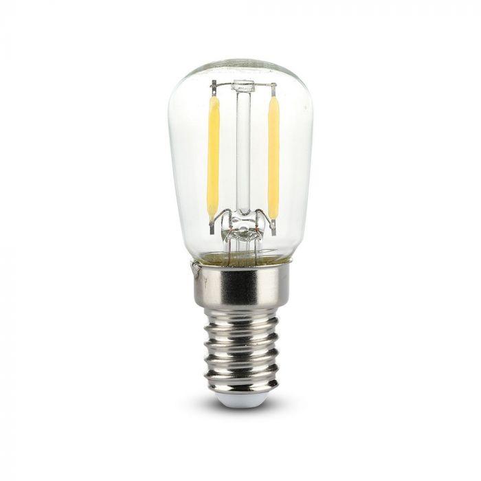 LED Bulb 2W ST26 - E14 Clear Glass 6000K (white)