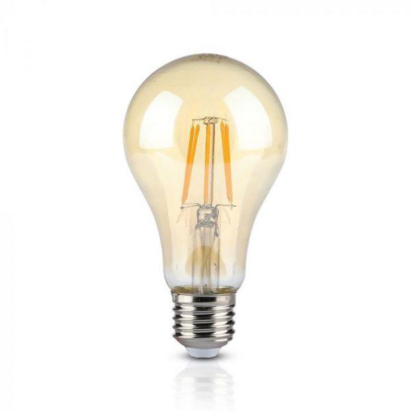 10W LED Bulb A67 Amber Cover 2200K E27