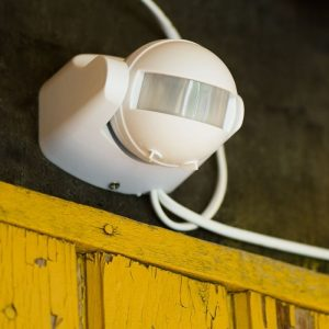 PIR Motion Sensor Wall White 180 deg. Outdoor