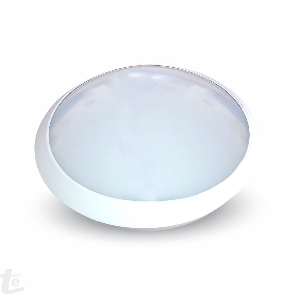 12W LED Full Round Ceiling Lamp With Sensor 6000 Body IP66