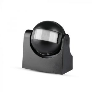 Infrared  Motion Sensor Wall Black 180 degree