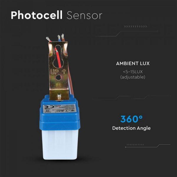 Photo-Cell Sensor (day/night) 6A 240V
