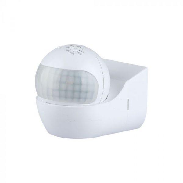 PIR Wall Sensor With Moving Head White