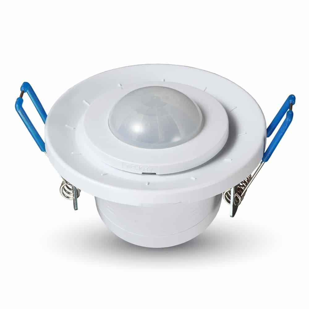PIR Ceiling Sensor With Moving Head White 360degree