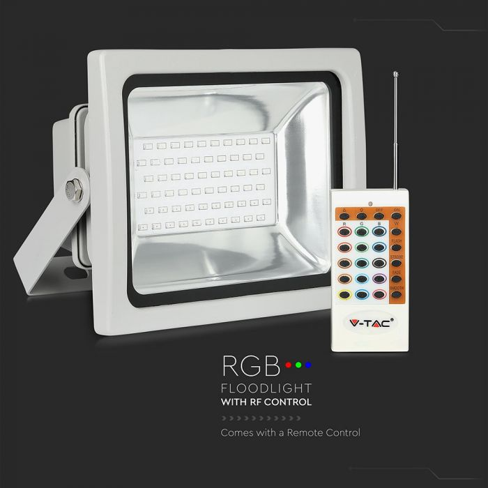 colour changing floodlight 30W