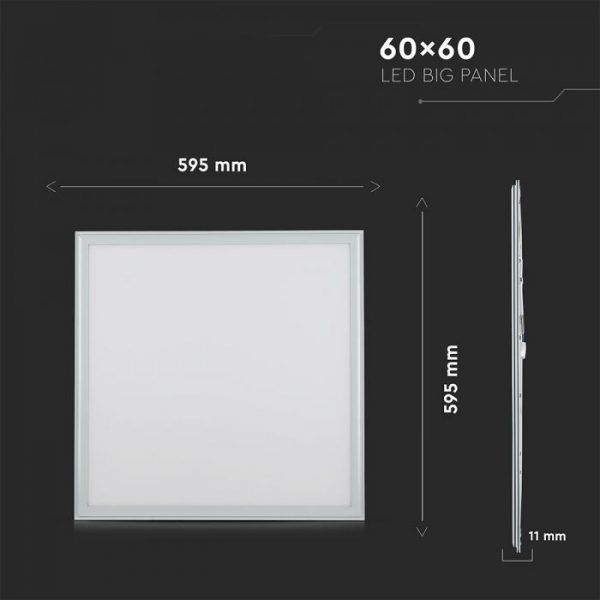 LED Panel 40W 600x600 Day White A       IP65