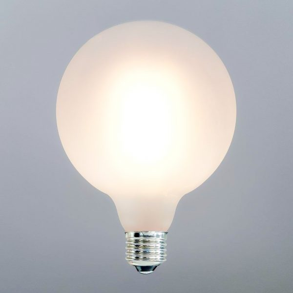 LED Bulb 7W G125 - E27 Filament Frosted Glass 3000K (warm white)