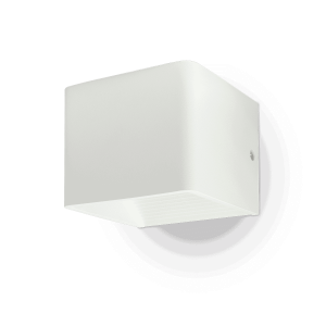 5W Wall Lamp With Bridglux Chip White Body Square 4000K