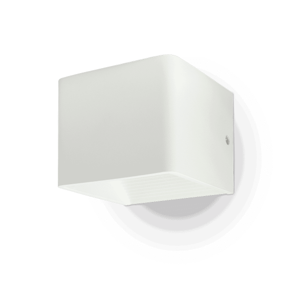 5W Wall Lamp With Bridglux Chip White Body Square 3000K