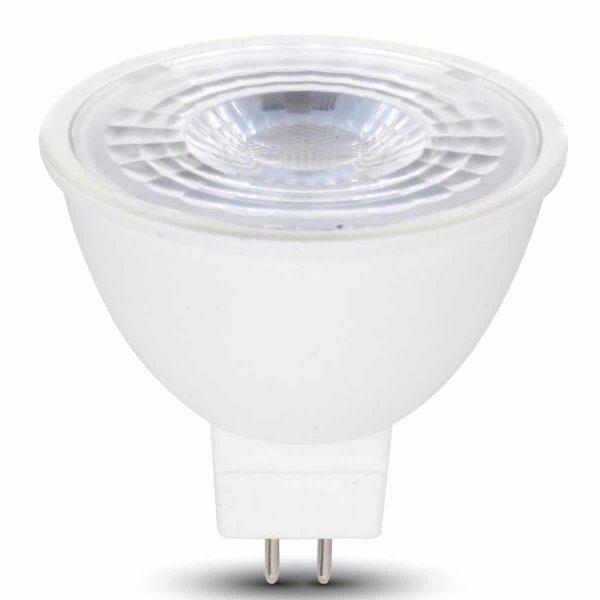 6.5W MR16 Ripple Plastic Spotlight GU5.3 38° Clear Lens