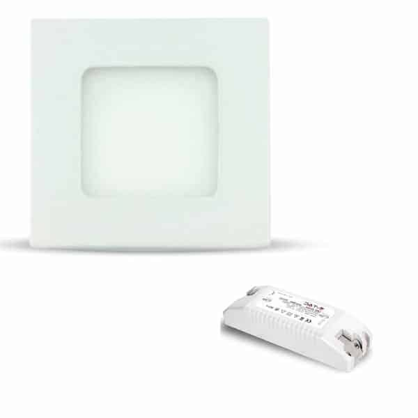 Recessed LED 6W Square