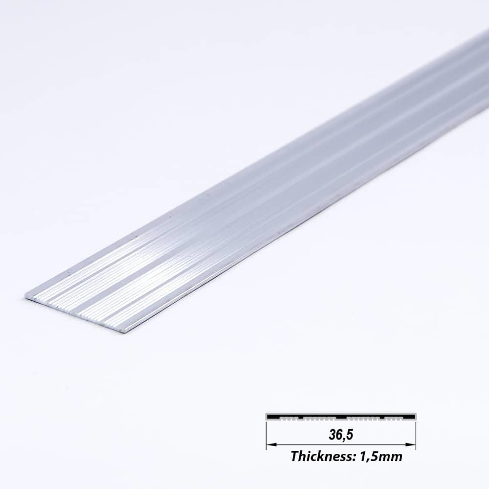Surface Aluminium LED Plated 36.5 mm (metre)