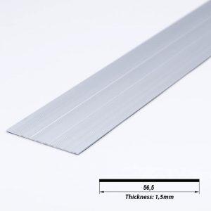 Aluminium Profile Plate Raw 56.5*1.5mm (metre)