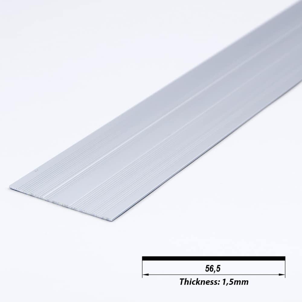Aluminium Profile Plate Raw 56.5 x 1.5mm (metre)