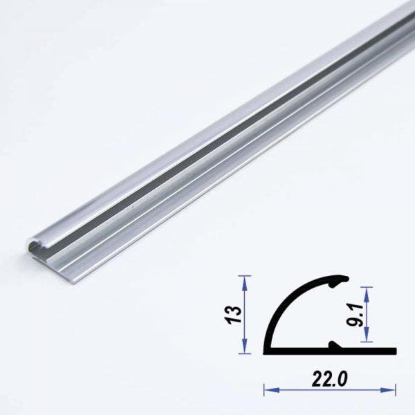 Aluminium Profile Mat Anodized Corner
