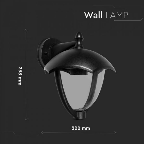Garden Wall Lamp IP44 Facing Down
