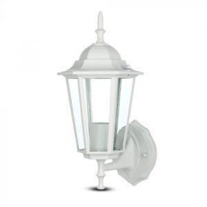 Wall Lamp E27 Matt White Up