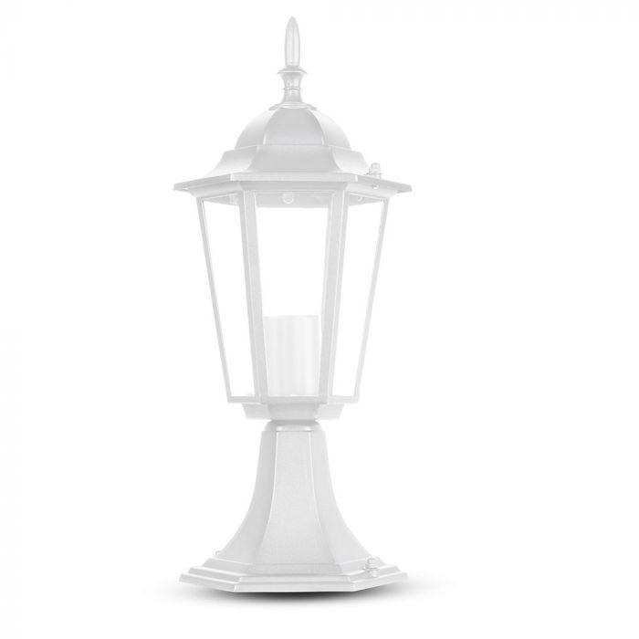 Stand Lamp 30cm Matt White