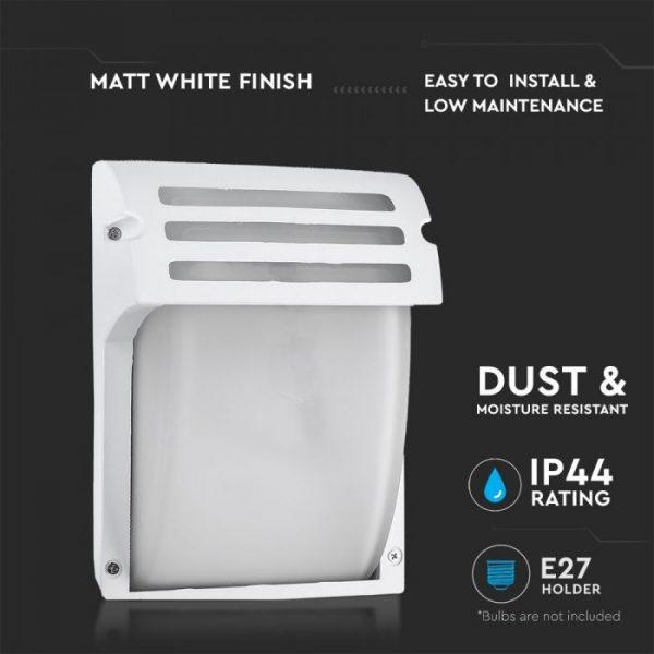 Wall Lamp Frost Glass Matt White
