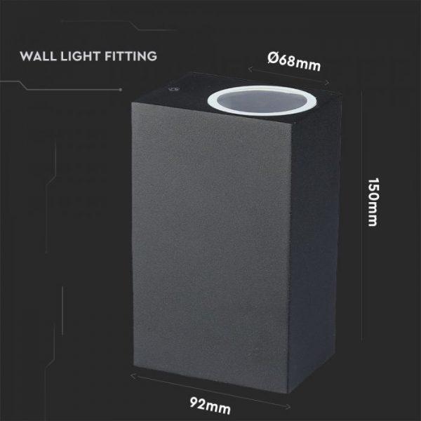 Outside wall light