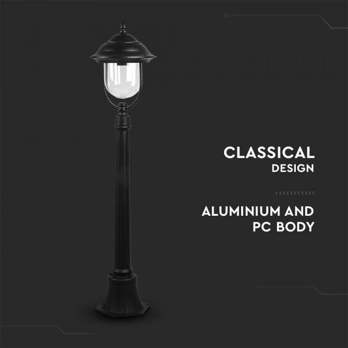 External lamp post