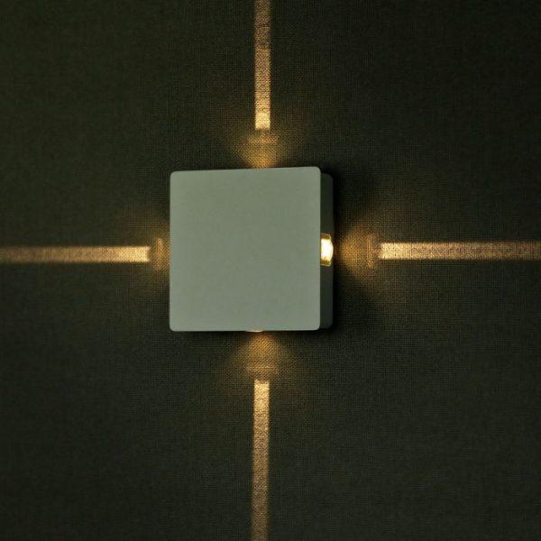 4W LED Wall Light Square IP65