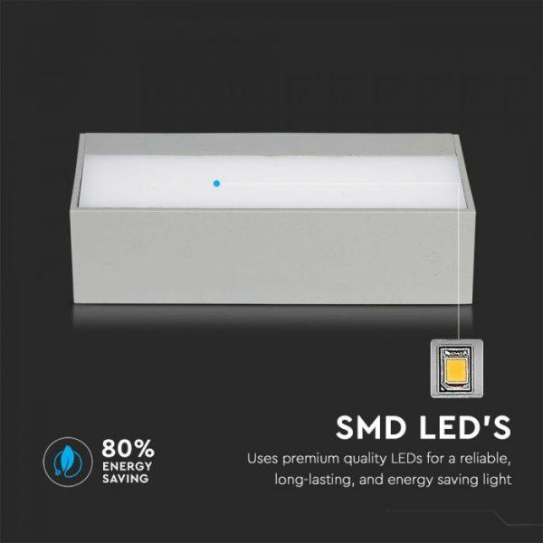 12W LED Up-Down Soft Light Large IP65
